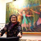 入江一子(女流画家)の展覧会「シルクロード記念館」の場所は?絵画の値段も気になる!
