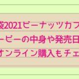 福袋2021ピーナッツカフェ スヌーピーの中身や発売日は?予約やオンライン購入もチェック!